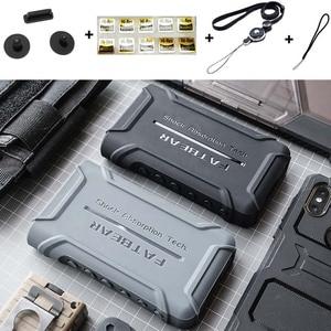 Image 1 - Anti Skid sağlam darbeye dayanıklı zırh tam koruyucu deli kılıf kapak için Sony Walkman NW WM1A WM1A NW WM1Z WM1Z toz fişi ile
