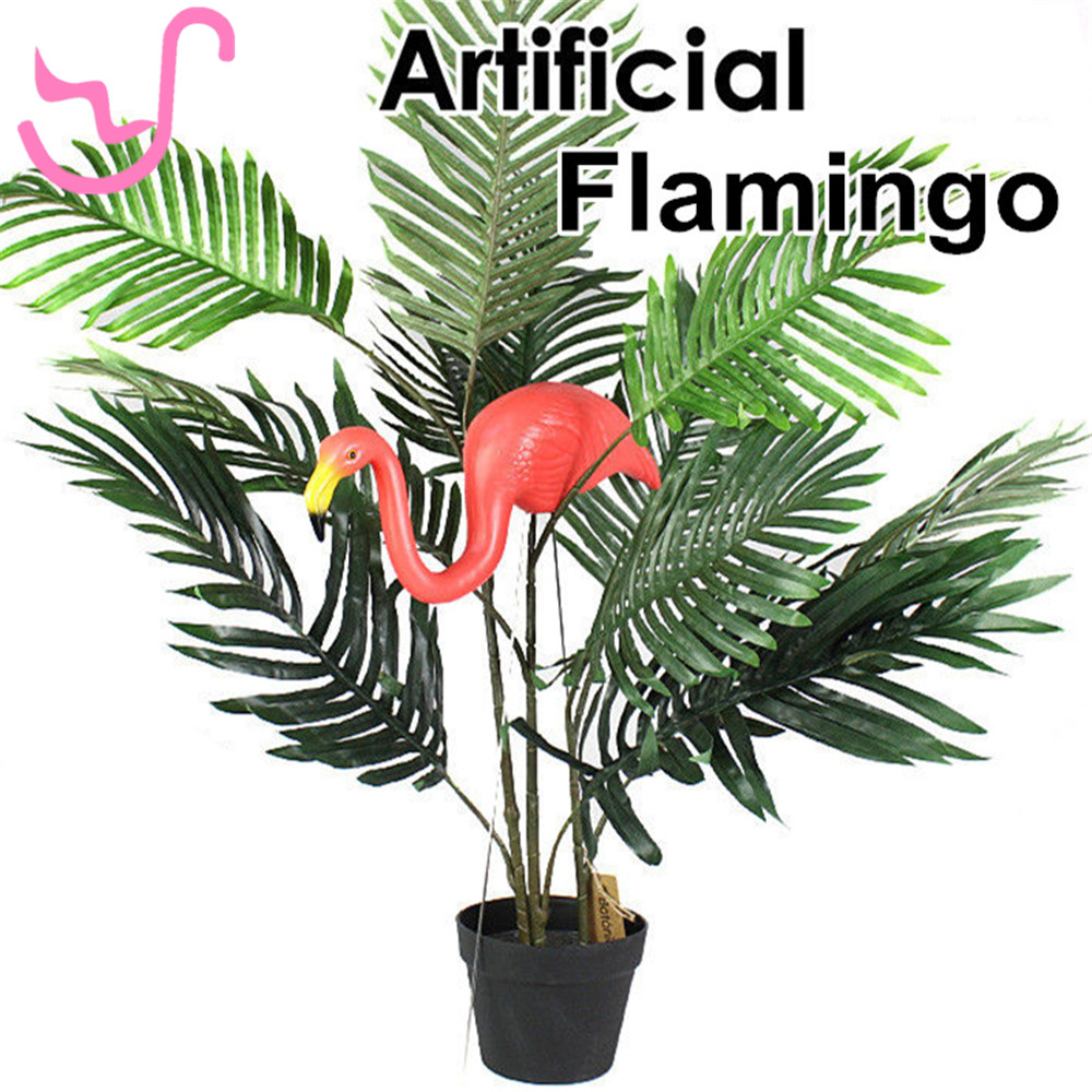 Free Shipping Plastic Pink Flamingos Blow Mold Bird Home Yard Garden Lawn Art Ornaments Decoration Plastic Pink Flamingo Statue