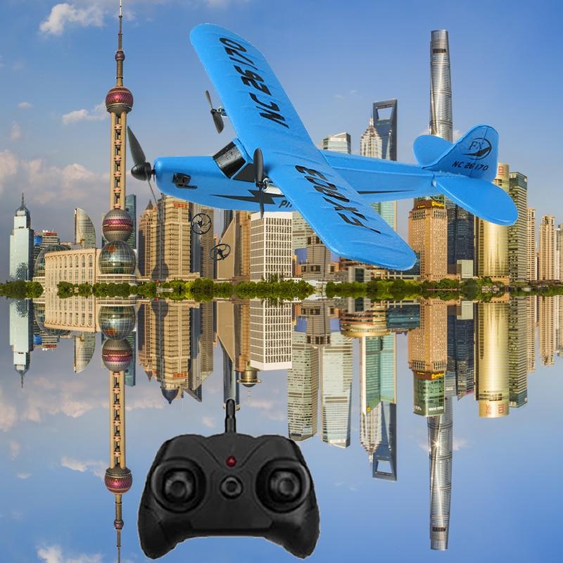 RC Электрические Самолеты дистанционного Управление самолет комплект RTF EPP Поролоновый 2,4G Управление; 150 м дальность полета самолета глобальная Горячая игрушка 6