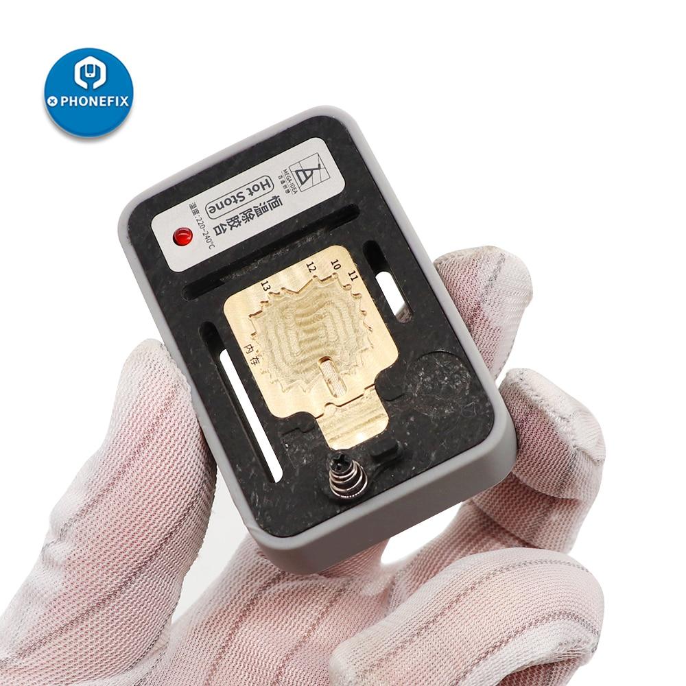 IPHONE NAND Constant Temperature Fixture 11 Stone Remove Hot X Max Pro XS QIANLI Glue 8 CPU For 7 Tool