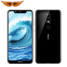 Nokia 5,1 Plus Original Entsperrt Nokia X5 Octa-core 5,86 Zoll 3GB RAM 32GB ROM LTE 13MP fingerprint Android Smartphone