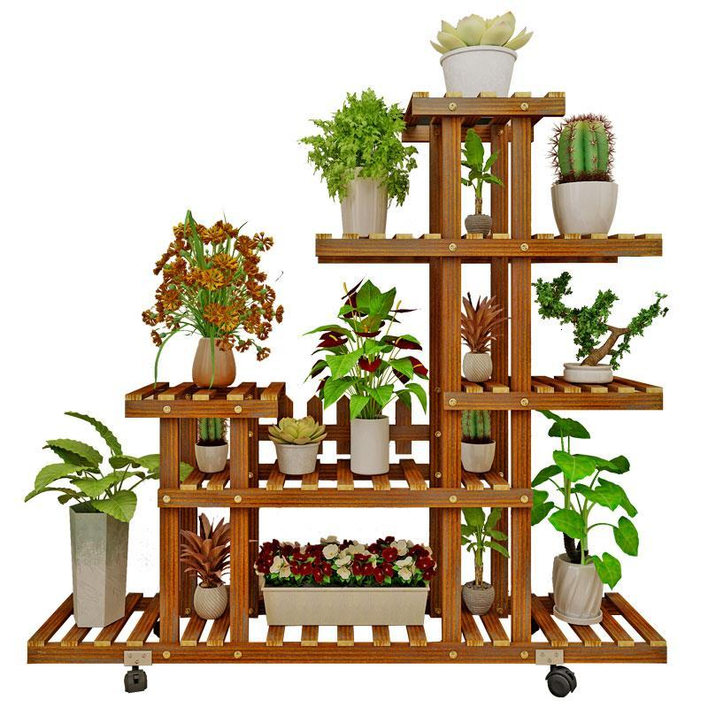 Estante Flores Soporte Interior Living Room Estanteria Para Plantas Balcony Flower Rack Stojak Na Kwiaty Dekoration Plant Shelf