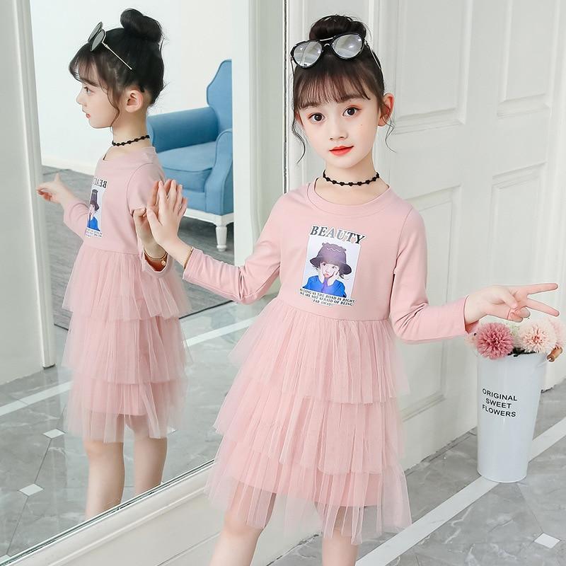 Dress For Girls Long Sleeve