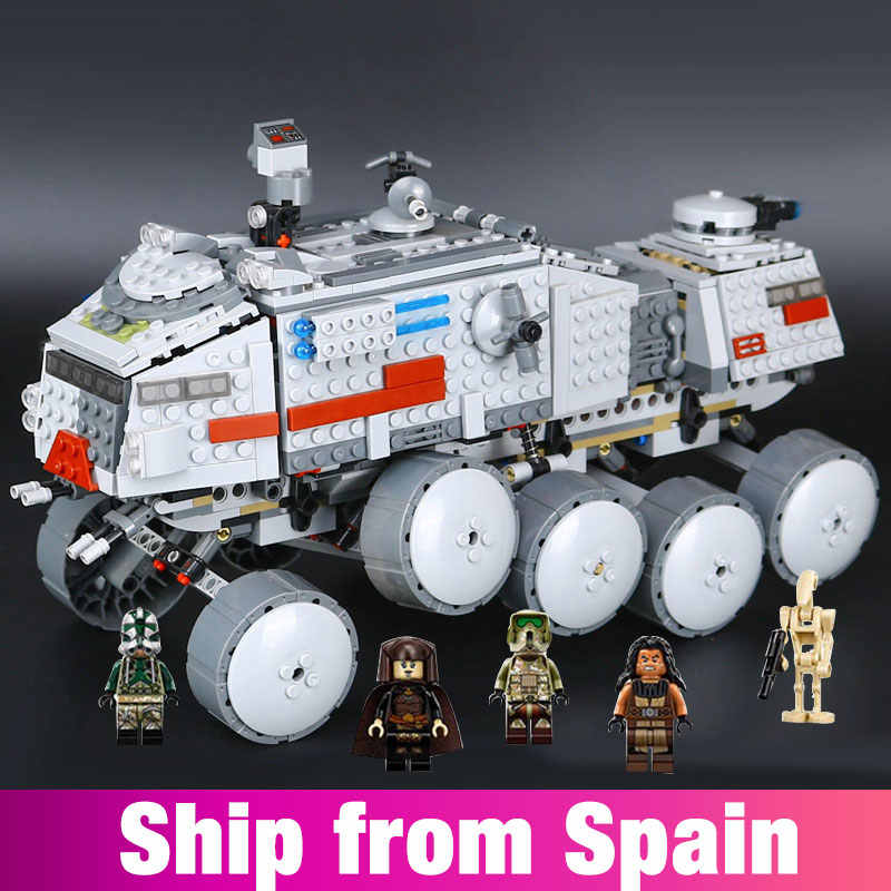 05031 Star war Series Clone Turbo Tank model toys Building Blocks Bricks with 75151 Boy's DIY toy Birthday Gifts compatible lego