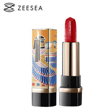 ZEESEA Egypt 10 Colors Lipstick Long Lasting Waterproof Nutritious Moisture Velvet Matt Nude Make Up Lip Gloss