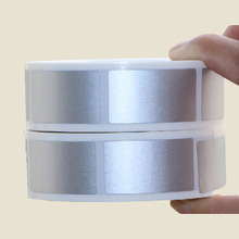 1000pcs 23x42mm Silver Gold Adhesive SCRATCH OFF Stickers DIY manual Label Tape Scratched Card Film In Roll