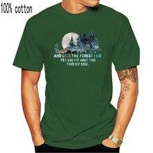 Camiseta de algodón con estampado de