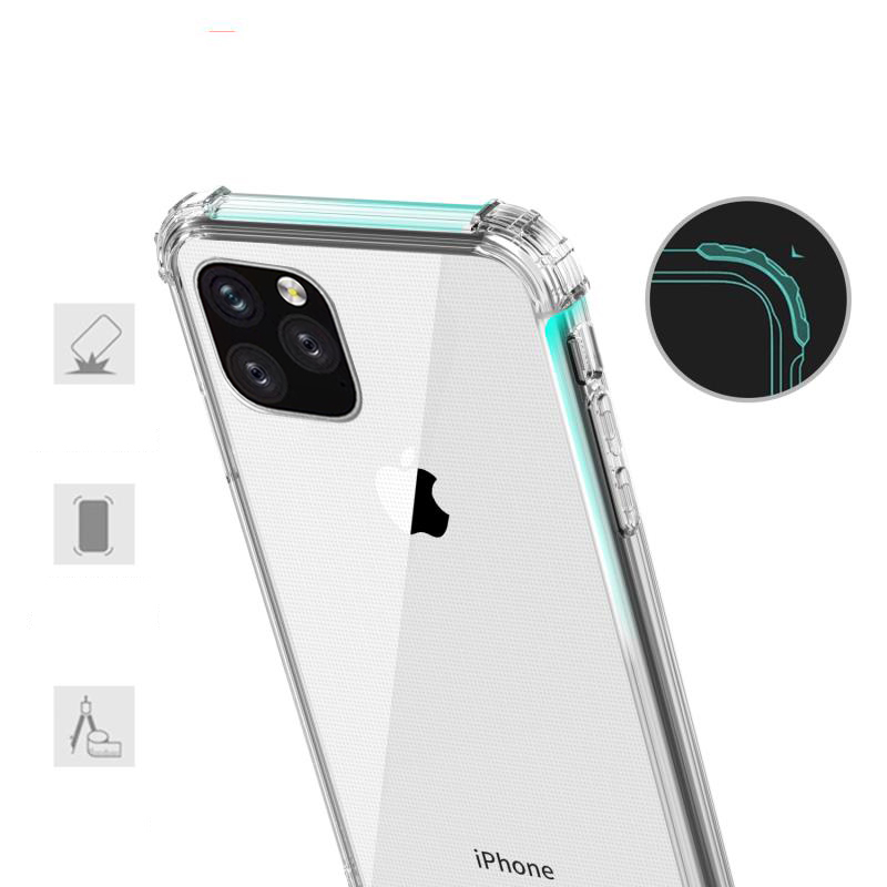 Heavy Duty Clear Case for iPhone 11/11 Pro/11 Pro Max 8