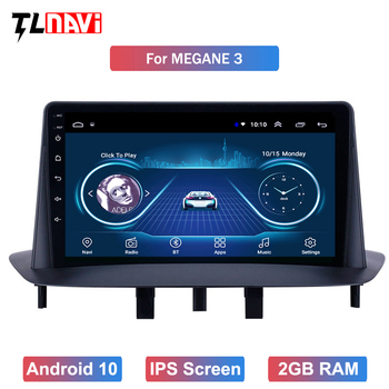 GPS Car Radio 9 inch Android 10 HD Touchscreen for Renault Megane 3 2009 2010 2011 2012 2013 2014 image