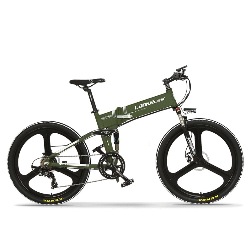 2020 China  LANKELEISI  26 inch bike electric mountain 27 Speeds Hydraulic Suspension Fork 250W 48V 10Ah Lithium Baterry 4