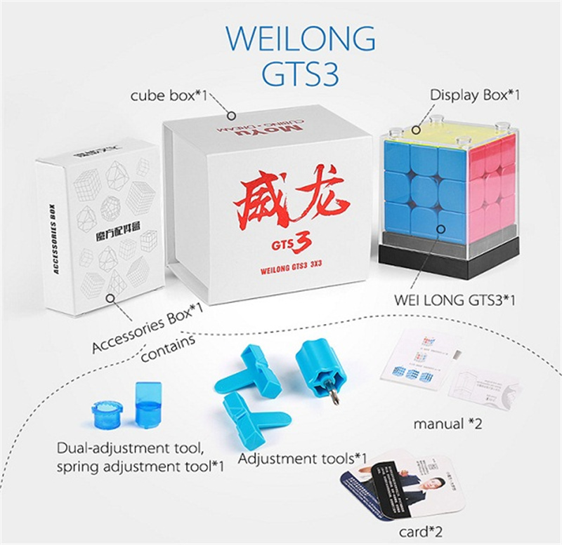 cubo magnético quebra-cabeça profissional gts 3 m