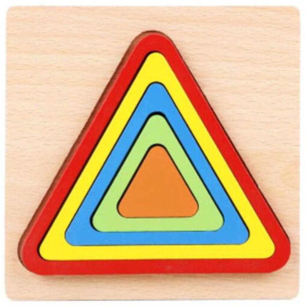 Montessori Cartoon Animal Educational Wooden Beaded Geometry Digital Clock Puzzles Gadgets Matching Clock Toy For Children 15