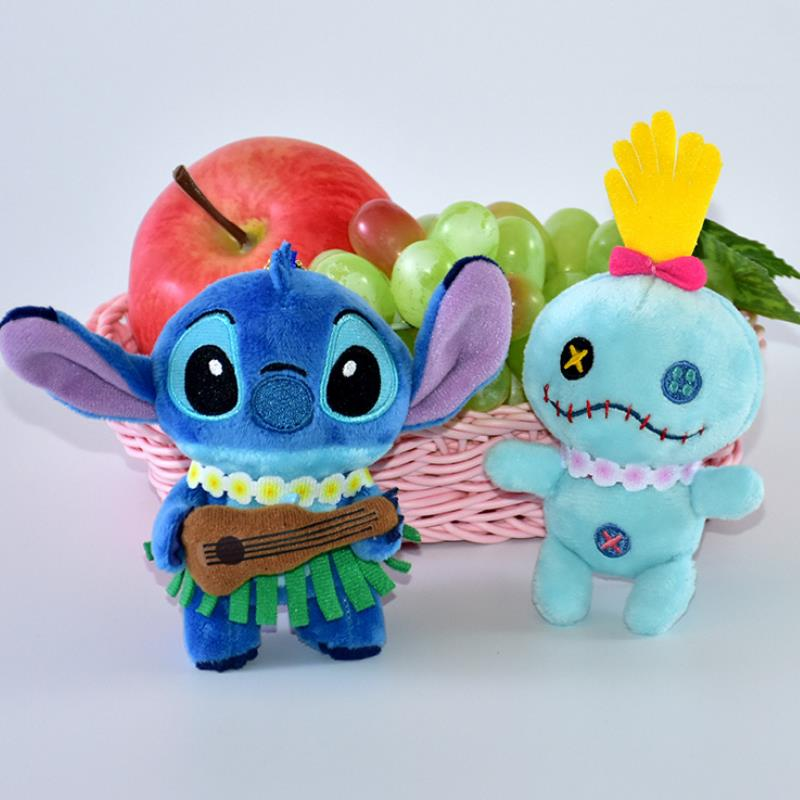 1 Pc New Creative Cartoon Guitar Lilo Stitch Scrump Plush Toys Plush Doll Soft Stuffed Animals Plush Toys For Kids Gift