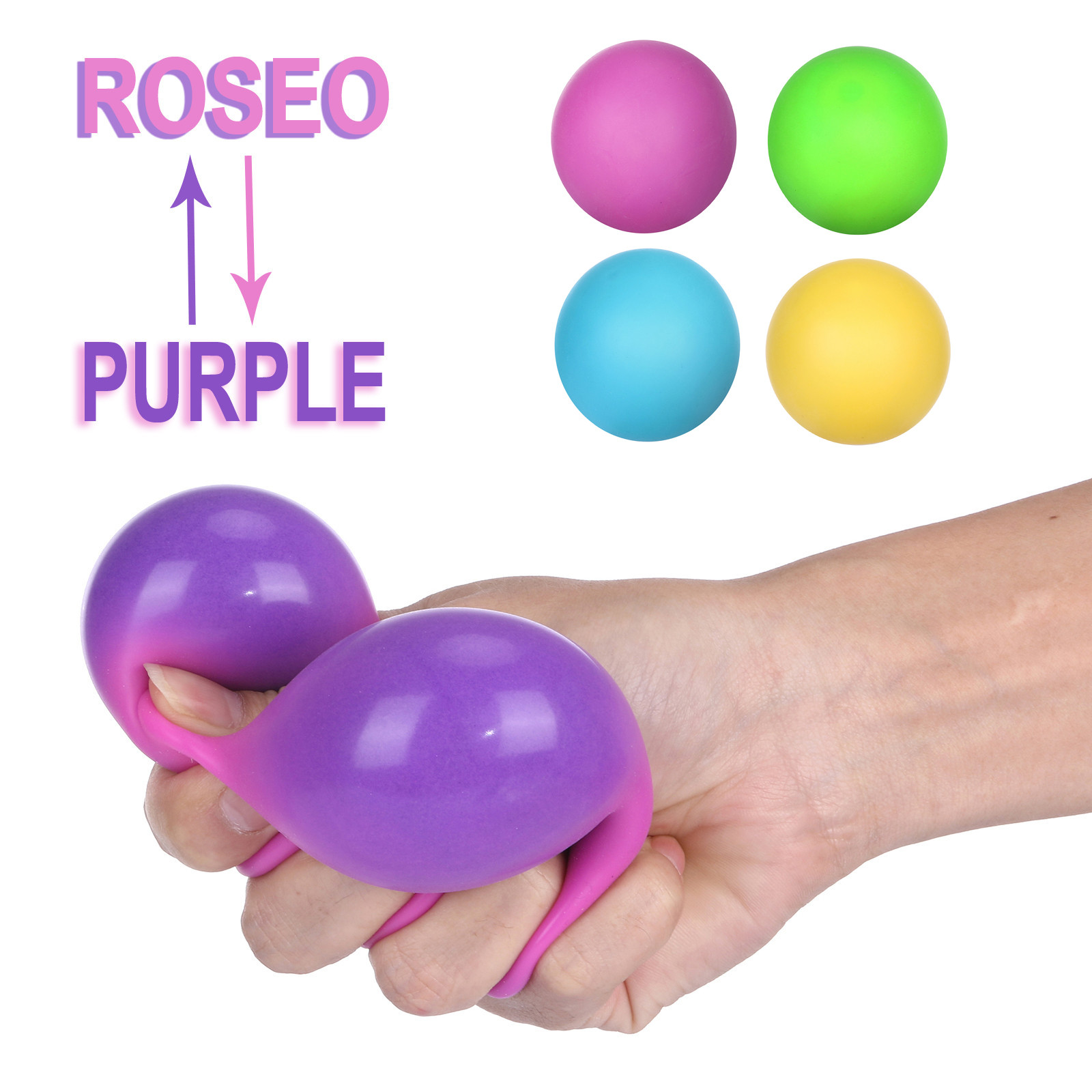 Office Decompression Toy Color Changes To Reduce The Pressure Ball Great Stress-relieving Toy ???????? img2