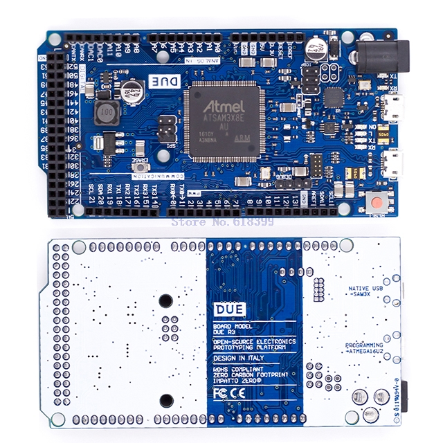 A2 -- новая официальная совместимая плата DUE R3 SAM3X8E 32-битная ARM Cortex-M3 / Mega2560 R3 Duemilanove 2013 для Arduino UNO Due Board
