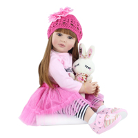 Realistic Vinyl Princess Toddler Bebe Doll Child Birthday Gift