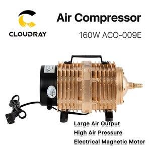 Image 3 - Cloudray 160W אוויר מדחס חשמלי מגנטי אוויר משאבת עבור CO2 לייזר חריטת מכונת חיתוך ACO 009E