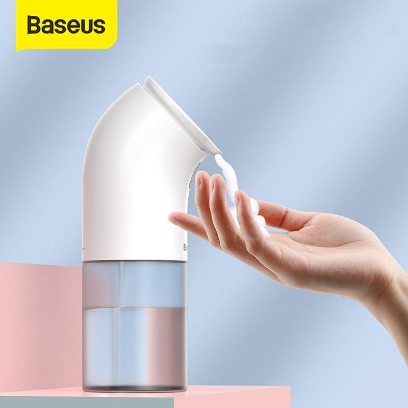 Baseus Интеллектуальный Автоматический Дозатор жидкого мыла индукционный Пенящийся прибор для мытья рук для кухни ванной комнаты (без жидкос...