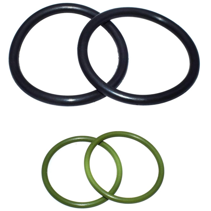4 Pieces Automotive Solenoid Valve Type Seal Ring for BMW Solenoid Valve 11367560462 11367506178 11367546379