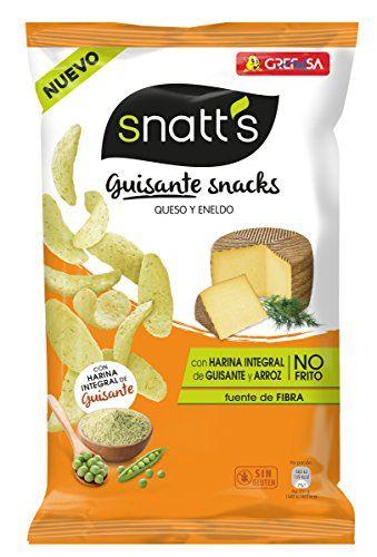 Snatt's Guisante Snack Queso Y Eneldo Envase 95 G