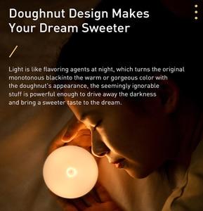 Image 2 - Baseus LED 야간 조명 PIR 지능형 모션 센서 야간 조명 사무실 홈 침실 침실 룸 인간의 유도 야간 램프