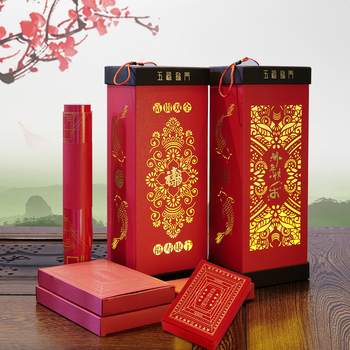 Chinese Living Room Decor Spring Festival's Gift Red Envelopes New Year's Little Something Wedding Decoration