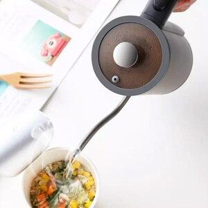 Image 4 - Youpin Электрический кофейник для рук, 8 мм, Электрический кофейник с гусиной шеей, система контроля температуры Strix, элегантный чайник для рук