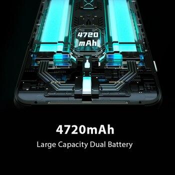 Global Version Black Shark 3 5G Snapdragon 865 8GB 128GB Game Phone Octa Core 64MP Triple AI Cameras 65W 4720mAh 3