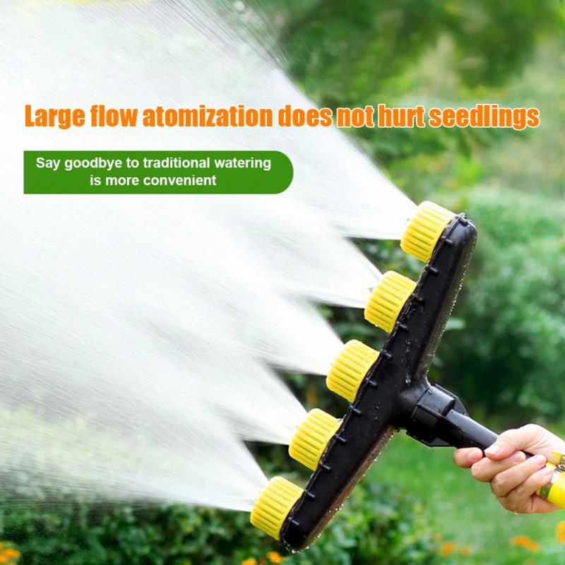 Garden Watering Greenhouse Agriculture Accessory Plastic Adjustable Atomizing Sprayer Yard Fog Misting Nozzle Outdoor Lawn-0