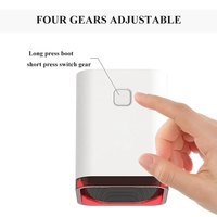 Car Mini Cooler Cooling Fan Silent Leafless Air Conditioning Fan Refrigeration Wind Portable Electric Fans Home Office Car