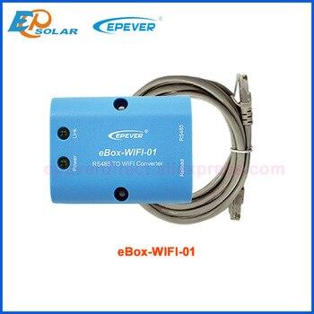 EPSOLAR-Caja bluetooth WIFI para teléfono móvil, control remoto con aplicación MT50 para EP Tracer, eBox-WIFI-01 de comunicación EPEVER 1