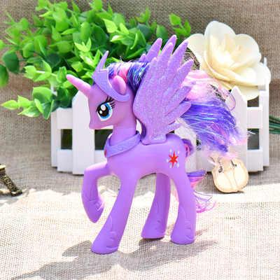 14 CENTIMETRI di Alta Unicorn Principessa Luna Nightmare di Notte Rarità Kunai Cavallo Giocattolo Action Figure