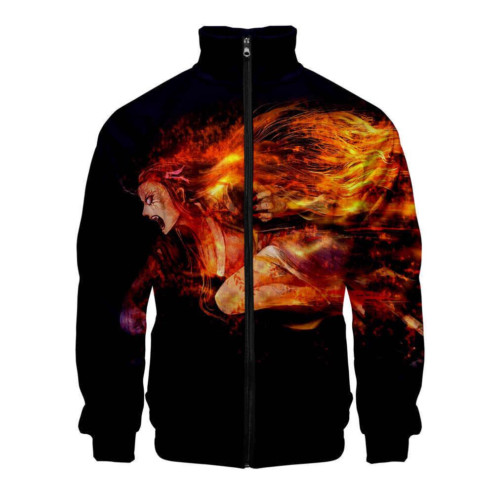Männer hoodies Japanischen anime Geister Klinge 3D druck ahegao hoodie fremden dinge ajax 2019 2020 Geist Klinge regelmäßige sweatshirts
