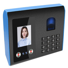 FA01 timemachine fingerprint puncher face facial recognition in Chinese and English version