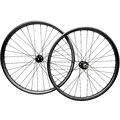 29er mtb Углеродные колеса 27 4x23 мм ассиметричные бескамерные горные дисковые велосипедные колеса 110x15 142x12 thru axle MTB велосипедные колеса