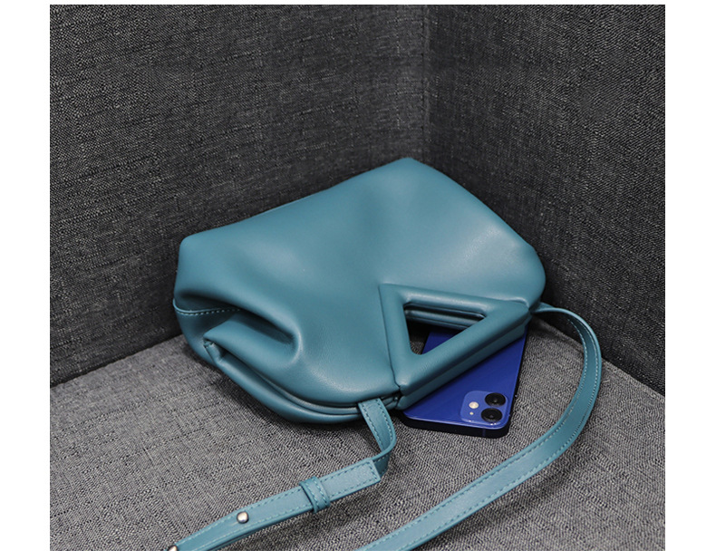 Bag For Women Genuine Leather Calfskin Leather Handbag Magnetic Frame Closure New Products High Quality Shoulder Bags Luxury Bag-BeeInFly