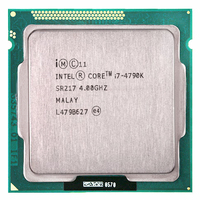 Intel Core i7 4790K CPU 4.0GHz LGA1150 Duad Core 8MB 22nm 88W i7 4790K CPU