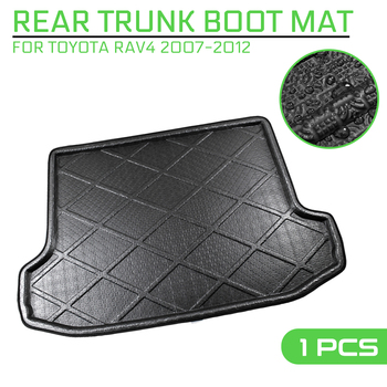 Car Floor Mat Carpet Rear Trunk Anti-mud Cover For Toyota RAV4 2007 2008 2009 2010 2011 2012 image