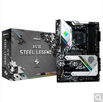 X570 Steel Legend AMD X570 AM4 motherboard+ R5 5600X/R7 5800X/R9 5900X CPU motherboard+CPU set