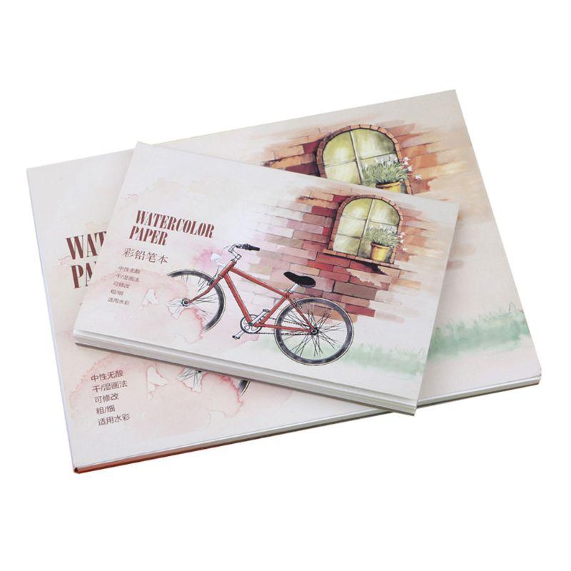 12-feuilles-a5-a6-aquarelle-carnet-de-croquis-papier-pour-dessin-peinture-couleur-crayon-livre-fournitures-d'art-scolaire