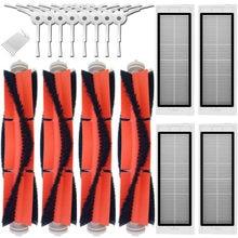 Pièces de rechange pour aspirateur xiaomi roborock s50, 2 brosses principales, 6 brosses latérales, 4 filtres HEPA