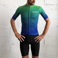 Fresi 2020 pro team race wear masculino coleção de bicicleta manga curta listrado lycra jerseys ciclista ciclismo bicicleta estrada|Camisetas p/ ciclismo| |  -