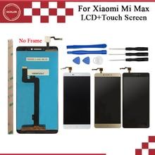 Ocolor xiaomi mi 最大の lcd ディスプレイとタッチ画面アセンブリの交換 6.4 xiaomi 最大電話ツールと接着剤