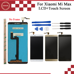 Image 1 - ocolor For XiaoMi MI MAX LCD Display And Touch Screen Assembly Replacement 6.4 For XiaoMi MAX Phone With Tools And Adhesive