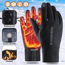 Outdoor Riding Gloves Windproof Waterproof Sport Man Winter