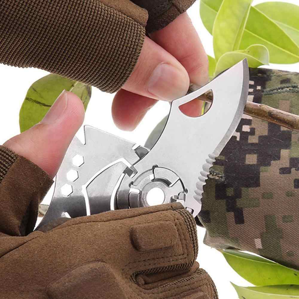 Открытый Edc портативный карманный инструмент креативный Волчья Голова отлетает многофункциональный комбинированный инструмент из нержавеющей стали кошелек карта нож