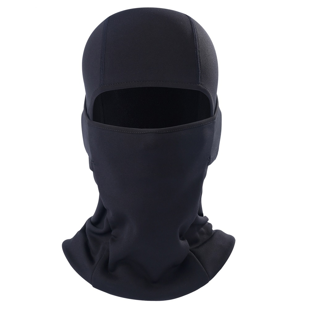 Image 2 - Motorcycle Balaclava Full Face Mask Flexible Warm Helmet Liner Riding Ski Paintball Bicycle Biker Snowboard Windproof Moto Hat-in Motorcycle Face Mask from Automobiles & Motorcycles