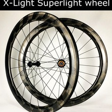 Carbon-Wheelset Spoke Tubeless Xlight Bicycle Road 700C 30/35/38-/.. Only 1289g Pillar 1420