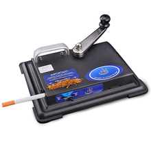 Rolling machine for cigarette metal tobacco roller gadgets for men manual inject