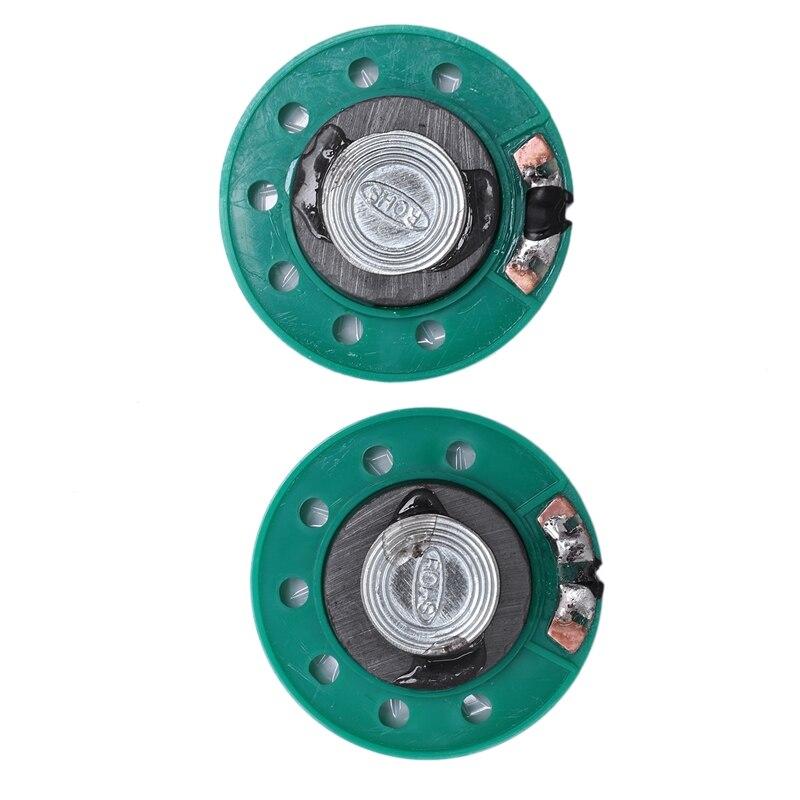 uxcell 2Pcs 40mm Dia 4 Ohm 3W Metal Shell Ultra-Thin Internal Mini Speakers Magnetic Loudspeaker